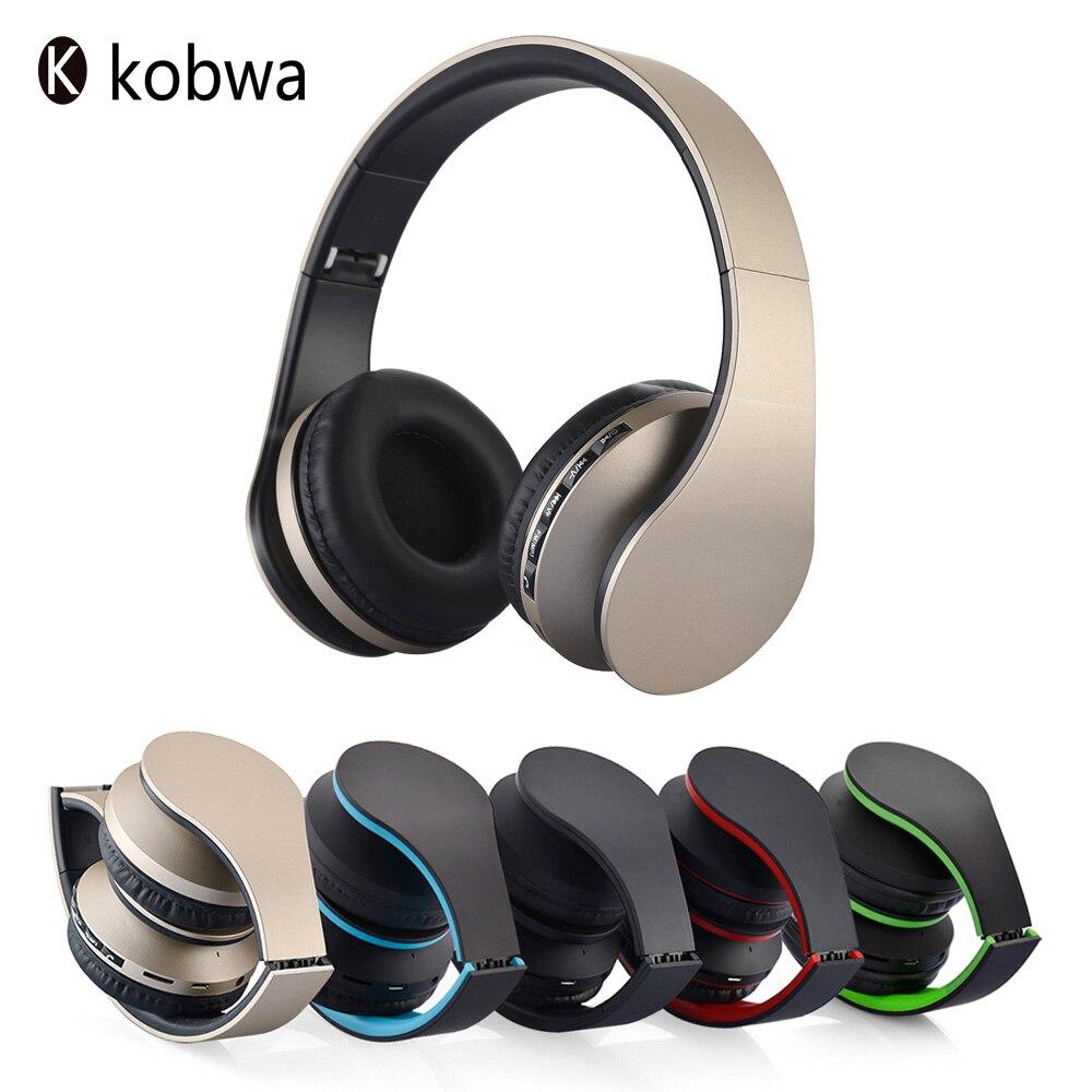 bilder für Faltbare EDR Kopfhörer Drahtlose Bluetooth Sport Stereo Noise Cancelling Unterstützung MP3 FM Mikrofon Headset Mit Smartphones PC