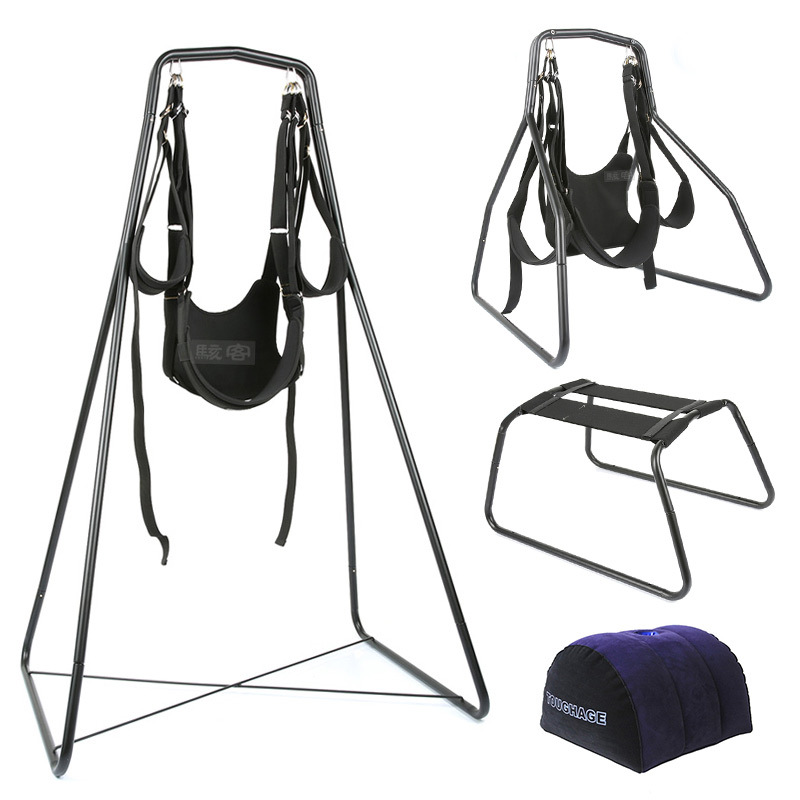 TOUGHE 4 in 1 sex swing chair pillow nylon sex adult love adult couples games sex furniture fetish bondage restraints set цена