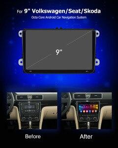 "Image 2 - Ownice 2Din 9"" Android 8.1 4G Car dvd GPS Navigation Player for Volkswagen VW SKODA GOLF 5 Golf 6 POLO PASSAT B5 B6 JETTA TIGUAN"