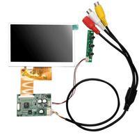 4,3 дюймовый ЖК-дисплей RGB 480 (RGB) x272 с AV драйвер платы модуль комплект монитор для автомобиля AV цифровая фоторамка Многофункциональный
