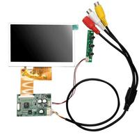 480 дюймов ЖК-дисплей RGB 4,3 (RGB) x272 с AV драйвер платы модуль комплект монитор для автомобиля AV цифровая фоторамка Multi-function