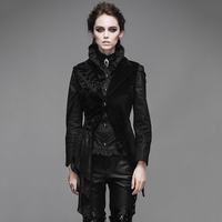 Devil Fashion Steampunk Black Asymmetric Sleeveless Dress Vest for Women Gothic Embroidery Jacket Waistcoats