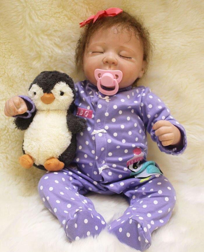 22 Doll Reborn Toys for Boys Girls Gift Cloth Body Silicone Sleeping Reborn Babies Bebe Real Alive Reborn Bonecas Brinquedos warkings reborn