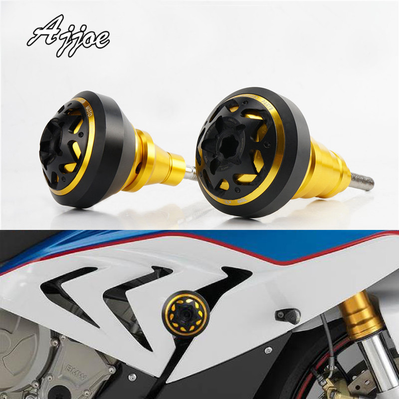 Motorcycle Aluminum Frame Slider Engine Protection Crash Pad Protector For ZX-10R ZX10R 2011-2017 ZX-6R ZX6R 2013-2017 Special
