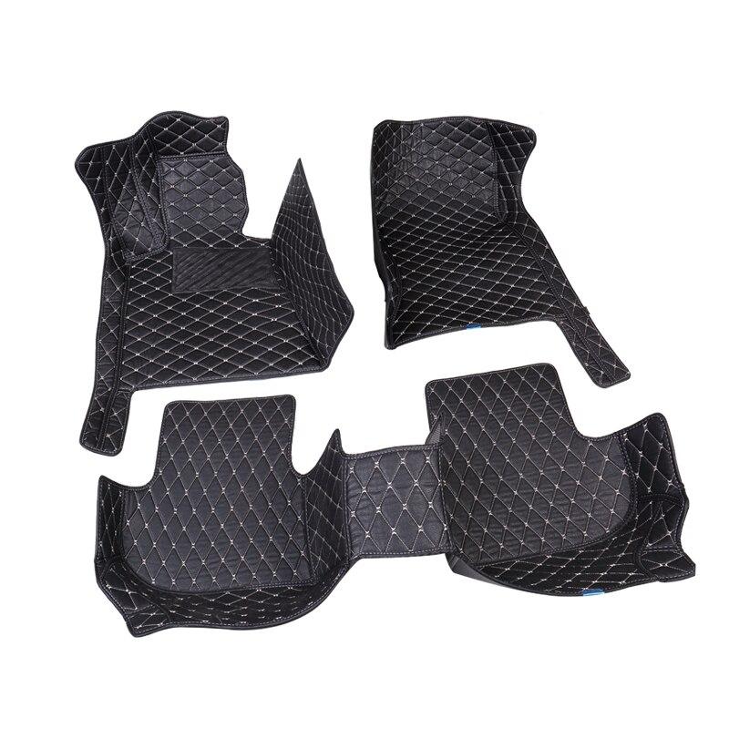 Car Wind car floor mat For hyundai veloster tucson 2019 accent 2008 sonata 2011 solaris 2011 elantra accessories carpet rugs