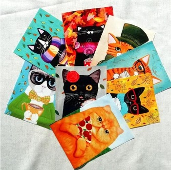Cotton Cat Fabric