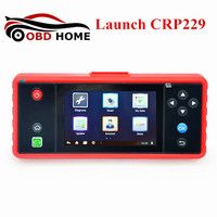 New Design Auto Scanner Launch X431 Creader CRP229 Touch 5.0 Android System OBD2 Full Diagnostic Tool Update Online WiFi