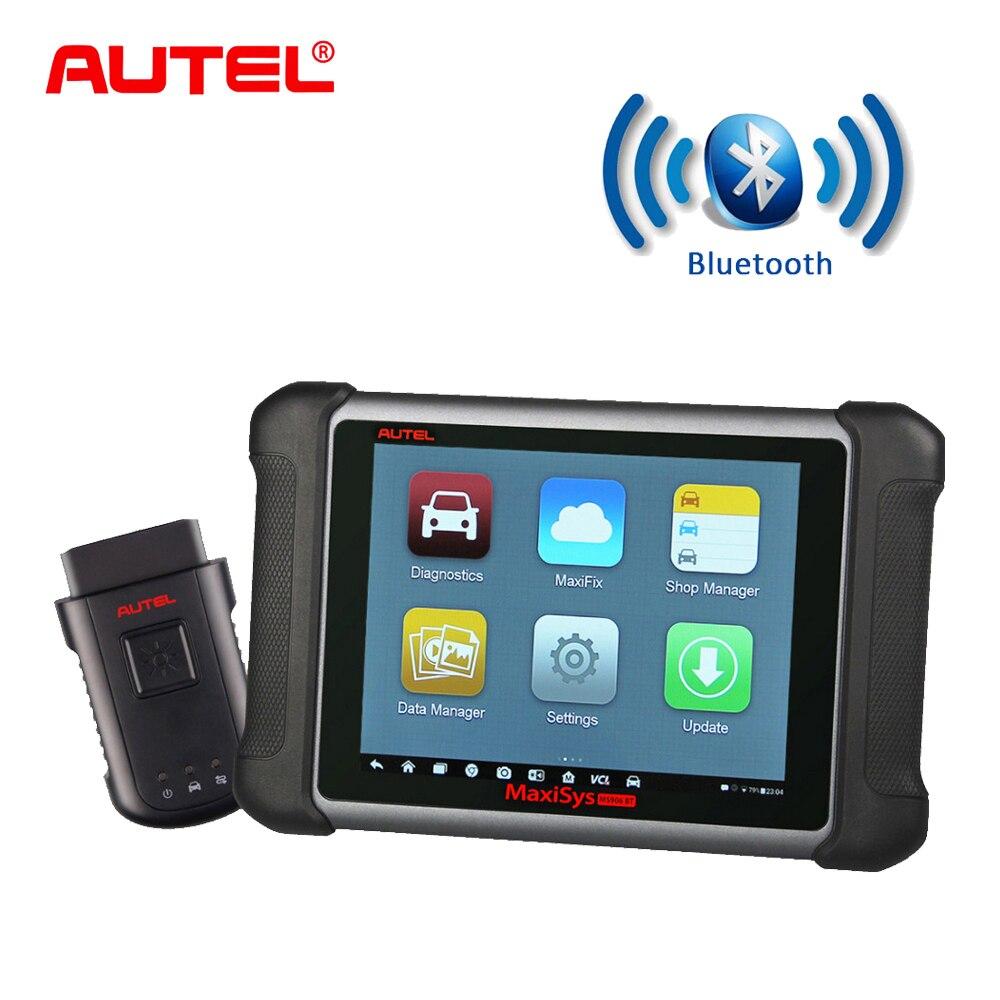 Autel Maxisys MS906BT Voiture Outil De Diagnostic OBD2 Scanner Bluetooth Clé Programmeur Outil De Diagnostic OBD2 Scanner Lecteur de Code