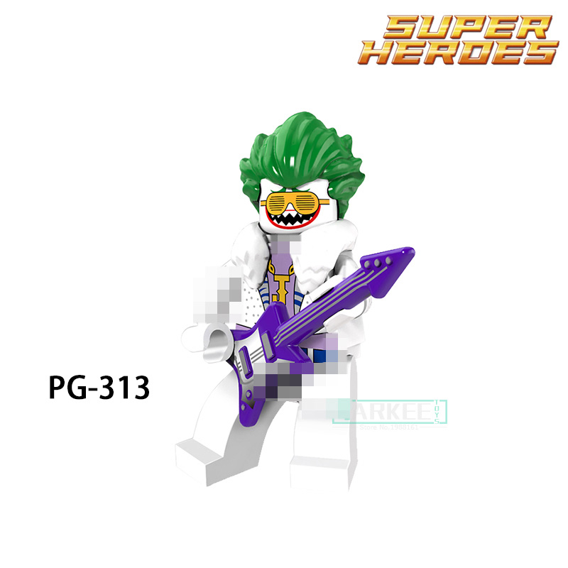 Building Blocks Joker Harley Quinn King Tut Commissioner Gordon Super Hero Star Wars Bricks Kids DIY Toys Hobbies PG313 Figures