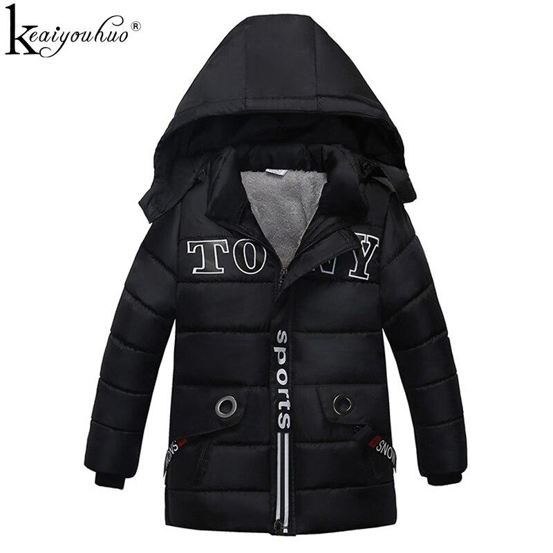 Besorgt 2018 Hohe Qualität Jungen Jacken Für Kinder Mäntel Mode Wintre Warme Mantel Für Jungen Kleidung Baumwolle Jacke Oberbekleidung Kinder Kleidung Attraktiv Und Langlebig