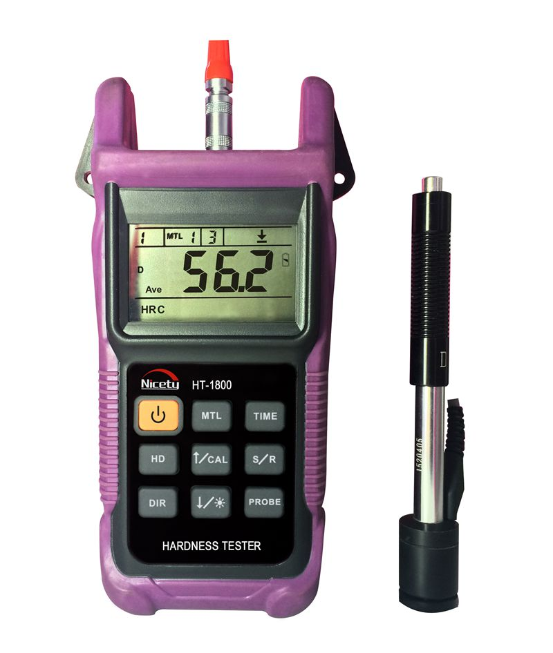 Nicety Meter Portable Lcd Digital Hardness Meter Brinell Rockwell B  U0026 C Vicker And Shore