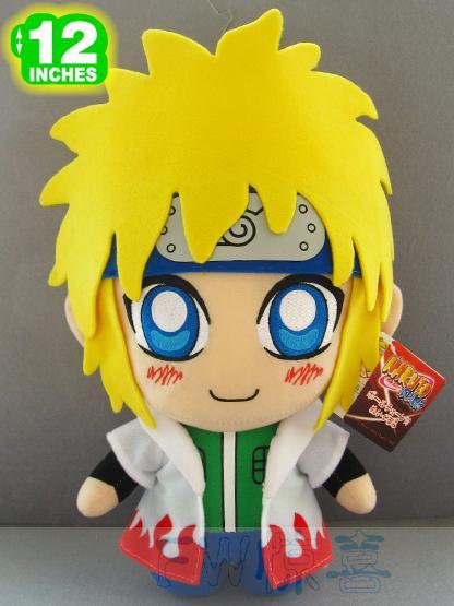 Japanese Hatake Kakashi Uzumaki Naruto0 Namikaze Minato Figure Anime Doll 1PC