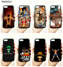 monkey d luffy one piece soft silicone edge mobile phone cases for apple iPhone x 5s SE 6 6s plus 7 7plus 8 8plus XR XS MAX case