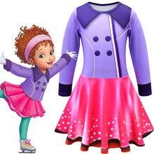 New cosplay beautiful Nancy childrens long-sleeved dress Halloween performance show costume