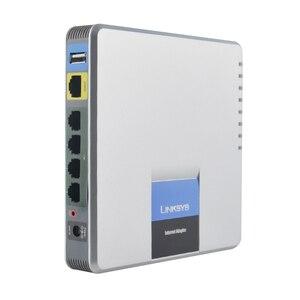 Image 5 - Adaptateur pour téléphone Internet débloqué LINKSYS SPA400 4FXO, système vocal, réseau VoIP, application de messagerie vocale, meilleur choix