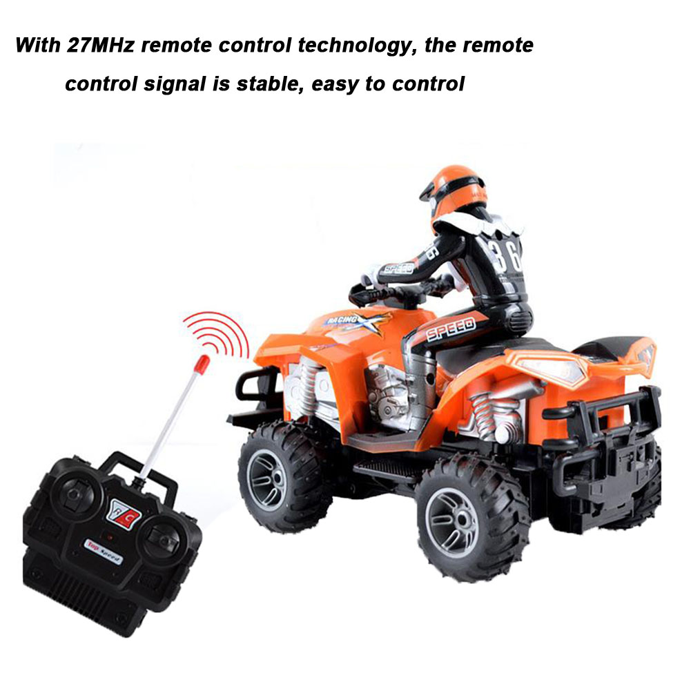 Simulated Driving Model Anti Collision High Speed <font><b>RC</b></font> <font><b>Motorcycle</b></font> Electric Toy Rechargeable Gift Quad Bike Fun Boys Wear Resistant image