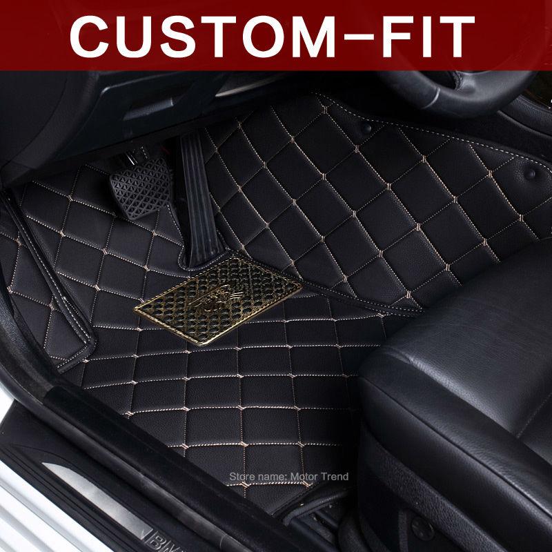 Custom fit car <font><b>floor</b></font> mats for <font><b>Ford</b></font> Kuga <font><b>Escape</b></font> Fusion Mondeo Edge Explorer 3D car-styling waterproof carpet rugs <font><b>floor</b></font> liners