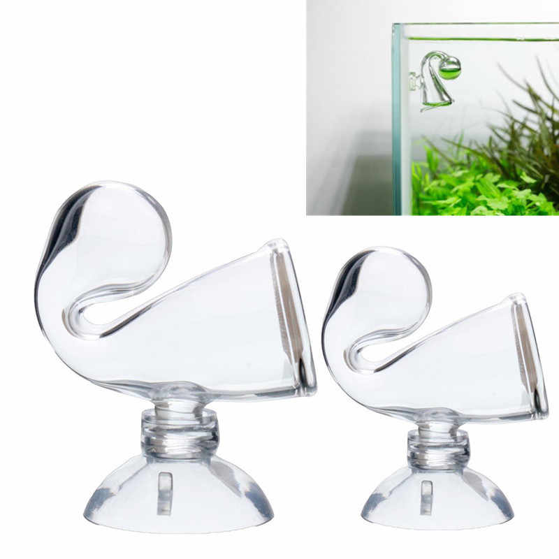 Aquatic Glass CO2 Drop For Checker Kit PH Long Term 2.5CM 3CM Diameter Fish Tank Test CO2 Kit