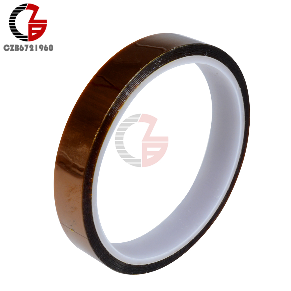 15MM 1.5CM 15MMx30M BGA High Temperature Heat Resistant Polyimide Gummed Adhesive Tape15MM 1.5CM 15MMx30M BGA High Temperature Heat Resistant Polyimide Gummed Adhesive Tape