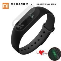 Original Xiaomi Mi Band 2 miband 2 Smartband OLED touchpad heart rate monitor Bluetooth 4.0 fitness tracker ip67 waterproof