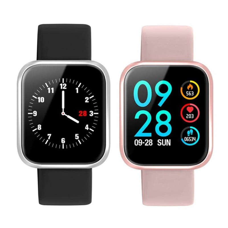 P70 Smart Watch Bluetooth 42MM Blood Pressure Oxygen Heart Rate Monitor Sport Smartwatch for Apple IPhone IOS Android