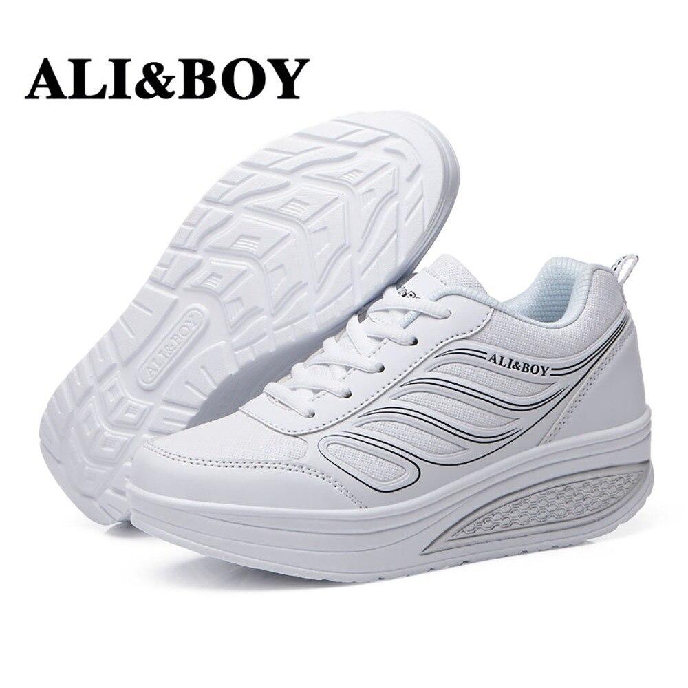 ALI&BOY Sneakers Women Shoes Zapatillas Mujer 2019 Deportiva Chaussures Femme Spor Ayakkabi Bayan Sport Shoes Woman Sneaker