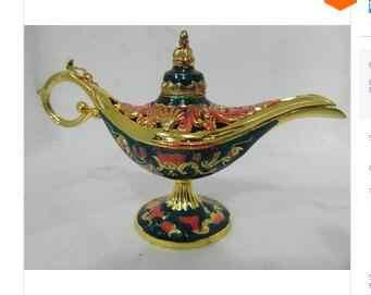 2 sztuk 1 Pair Niebieski lampa Festiwal pomyślny życzenia Phnom Penh tea Pot lampa Al-addin Pakistan rzemiosło Hurtownie cena Fabryczna