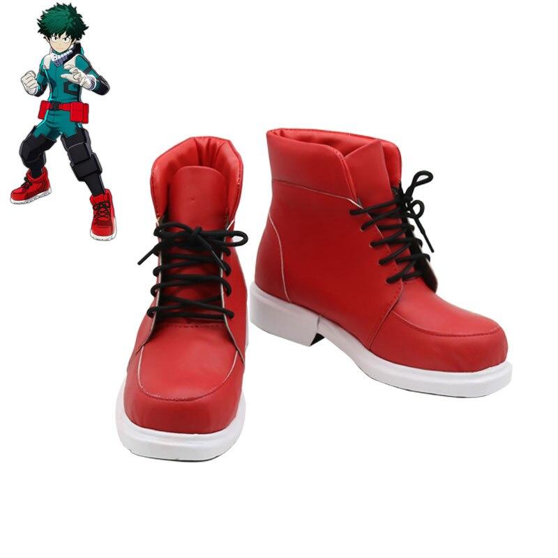 New Anime Party Boku no Hero Academia boots Midoriya Izuku Todoroki Shoto Bakugou Katsuki Cosplay My
