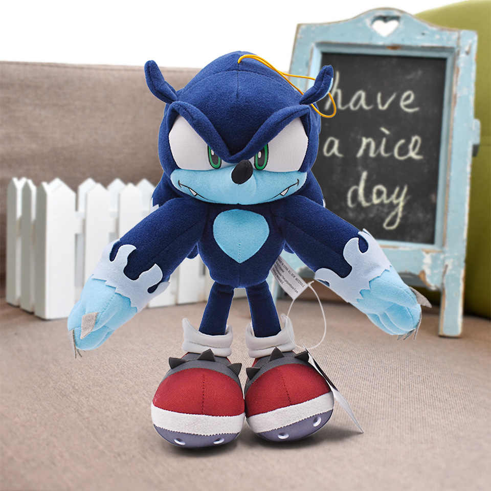 Detail Feedback Questions About 31cm 124 Sonic Plush Toys Sonic