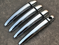 Chrome 1 key hole Door Handle Cover Trim fit for  FOR Peugeot 3008 2012--2015