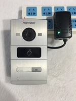 HIK Video Access Control DS KV8102 1A DS KV8102 IM Visual Intercom Doorbell Waterproof IC Card