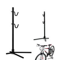 Generic Height High Adjustable Bike Bicycle Rear Stay Bracket Stand Repair Holder Black