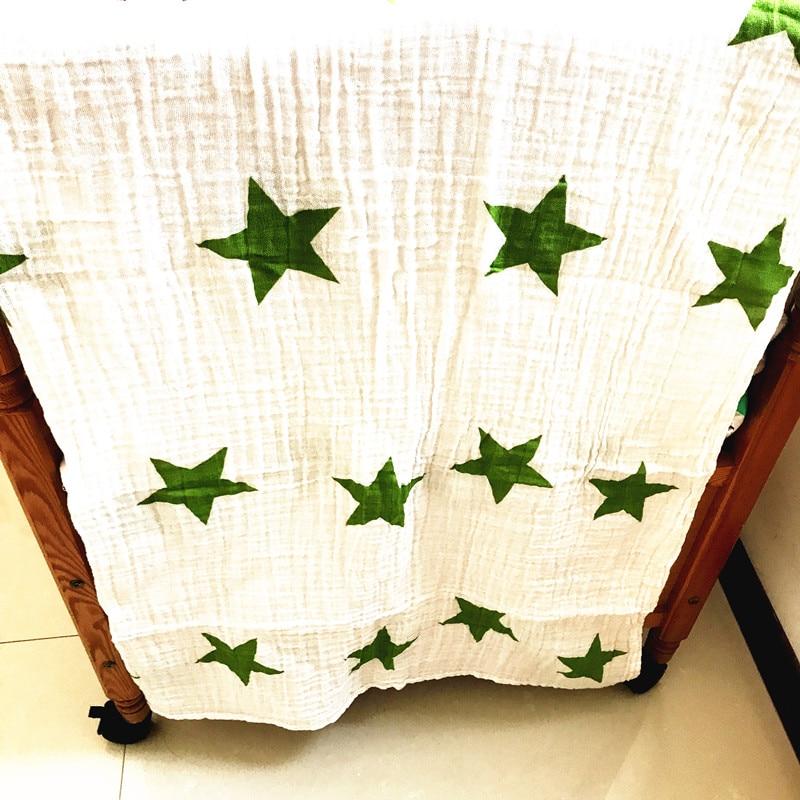 Baby Blanket Muslin Swaddle Wraps Cotton Baby Blankets Newborn Muslin Blankets