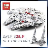 lepin 05132 star wars destroyer millennium falcon compatible with LegoINGly 75192 starwars bricks model building blocks