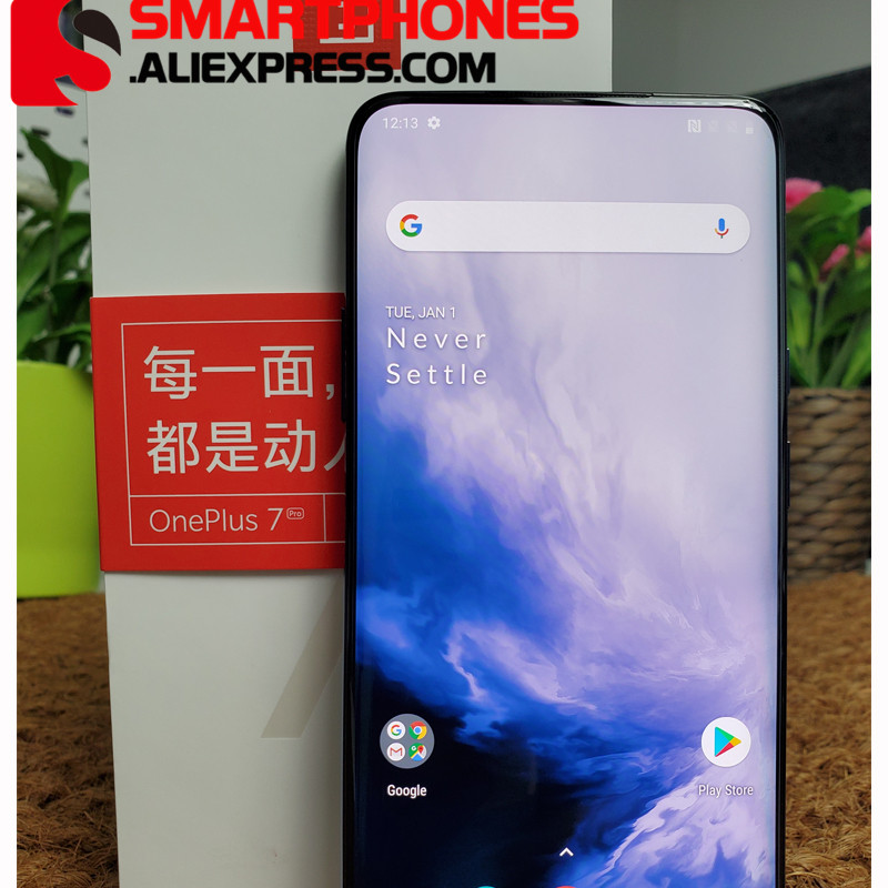 """Global ROM Oneplus 7 Pro 6GB 128GB Smartphone Snapdragon 855 6.67"""" AMOLED Screen 48MP Triple Camera 30W Charger NFC 4000mAh