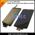 Free Shipping 100% tested Original for LG D800 LCD Optimus G2 F320 LCD Display Touch Screen Digitizer Assembly - Black