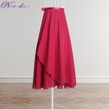 Балетный танец для женщин взрослых длинное шифоновое однотонное балетная обертка юбки лирическое мягкое балетное платье черный бордовый танцевальные костюмы