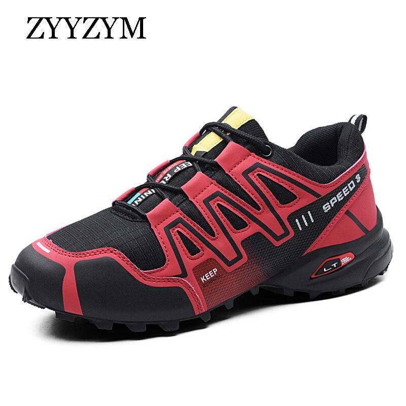 ZYYZYM Men Casual Shoes Fashion Sneakers Spring 2019 Men Shoes Big Size 39 48 Non slip Camouflage Outdoors Tourism Run Shoes Men in Men 39 s Casual Shoes from Shoes