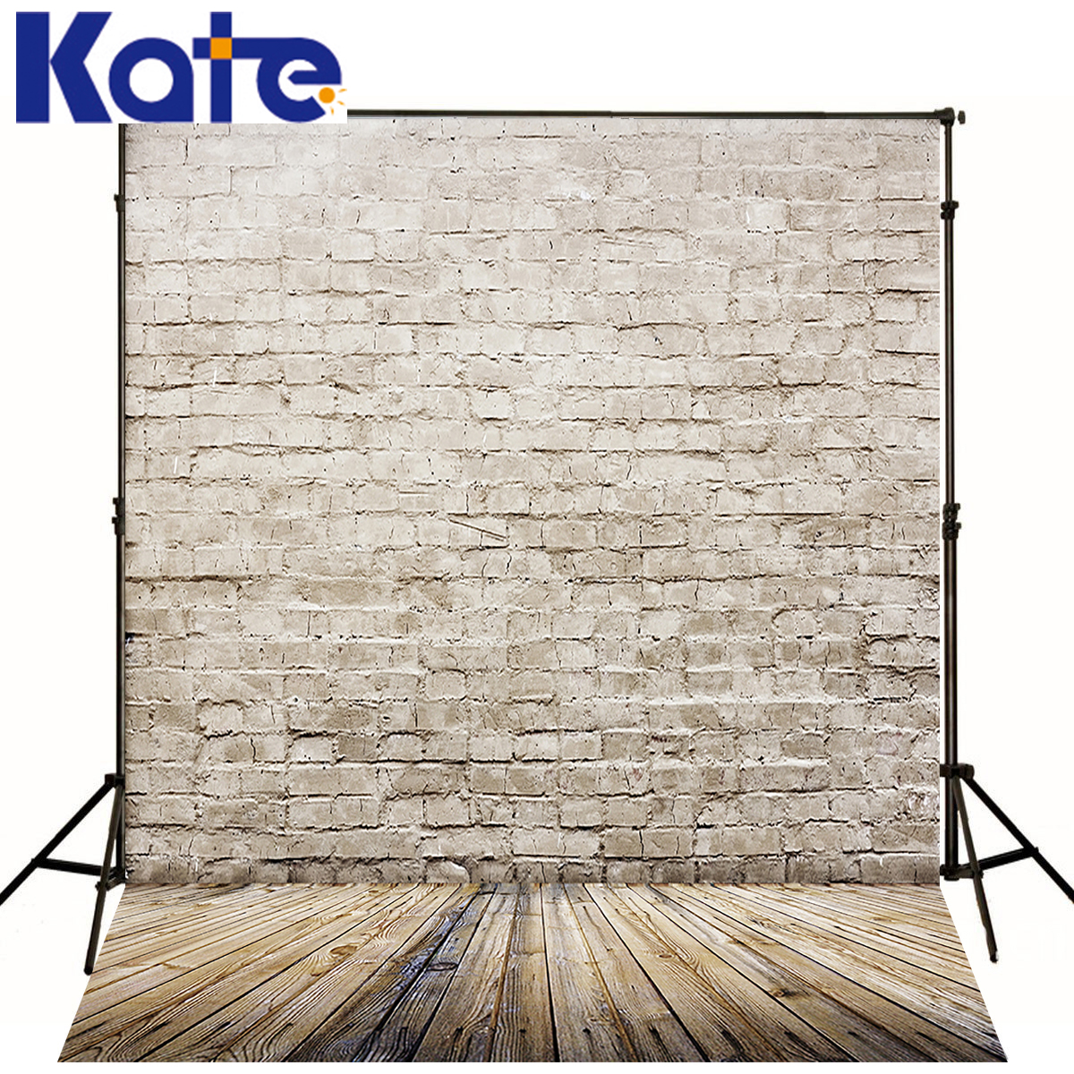 Kate Newborn Baby Backdrops Photo Retro White Brick Wall Fond Studio - Camera and Photo - Photo 1