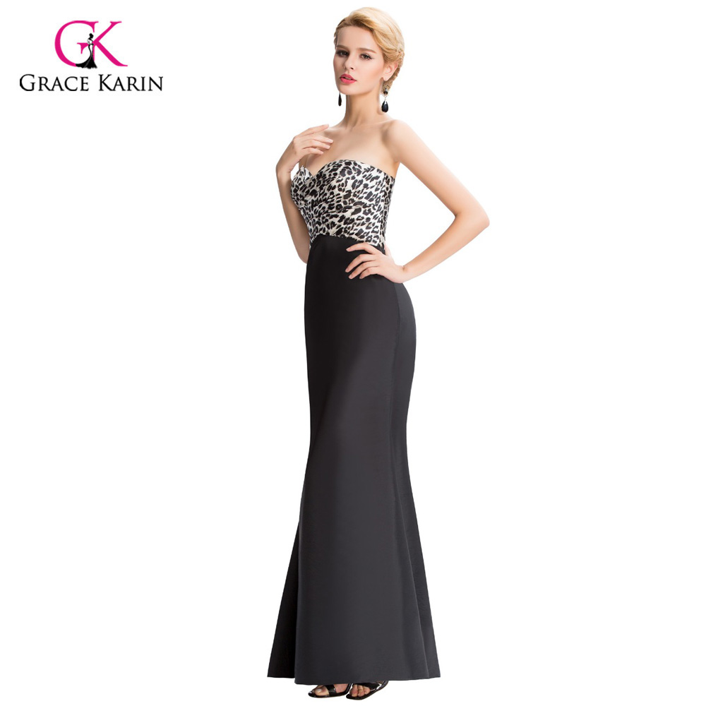 Aliexpress.com : Buy Grace Karin Women Strapless Long Evening ...