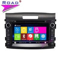 TOPNAVI Wince 6 0 7inch 2Din Car Multimedia DVD Player For Honda CRV 2012 Stereo GPS