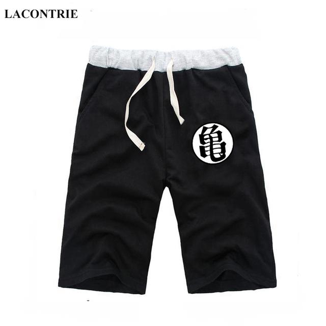Summer Short Pants Dragon Ball Casual Cotton Sweat Shorts Cartoon Mens Jogger Fitness Knee Trousers