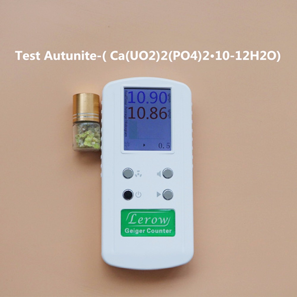 лучшая цена LR4011 Detector Geiger High Accuracy Nuclear Radiation Counter Nuclear Personal Dosimeters Detects Combined Beta Gamma X-Ray