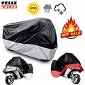 Все Размер Мотоциклов Обложка Водонепроницаемый Открытый Уф Протектор Мотоцикл Дождь Пыле Мотоцикл Мотороллер M/L/XL/XXL/3XL/4XL A2123