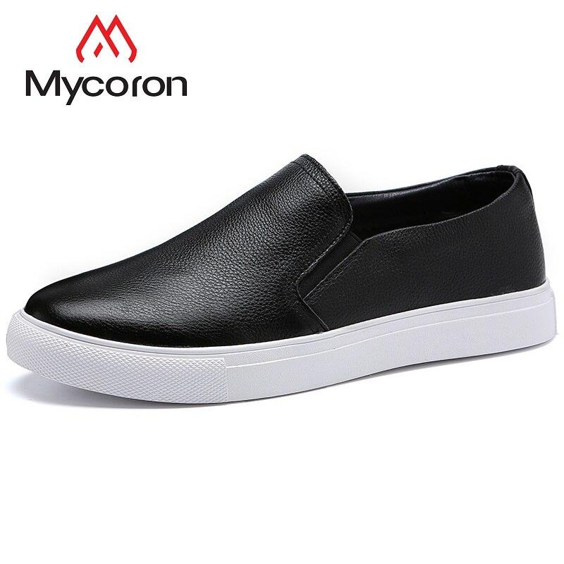 Sapatos Mocassins Casual 2018 Outono Mycoron Primavera Moda Respirável Masculino De Leve Sapato Preto Botas Caminhada Confortável qUzft0wf