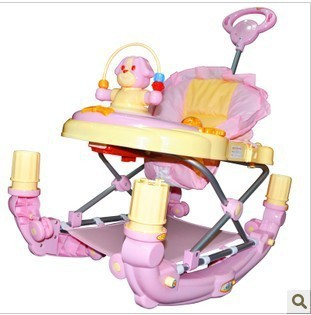 2016 New style Multifunction baby walker children walker with music remote control function free shipping