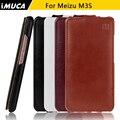 Casos de telefone imuca para meizu m3s flip up couro meizu carcasa m3s m3 mini case shell protetora da pele covers capa fundas coque