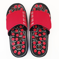 Foot Massage Slippers ABS Sandals Foot Sole Massager For Men And Women Health Shoes Reflexology Care