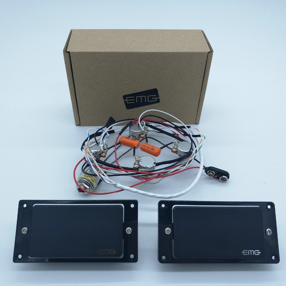 Guitar Pickups 81 85 Active Electric Wiring Accessories With Harness 1 Set In Stock Parts