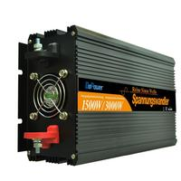 1500w 3000 Watt Dc 24V To Ac 220V Remote Pure Sine Wave Power Inverter With Wired